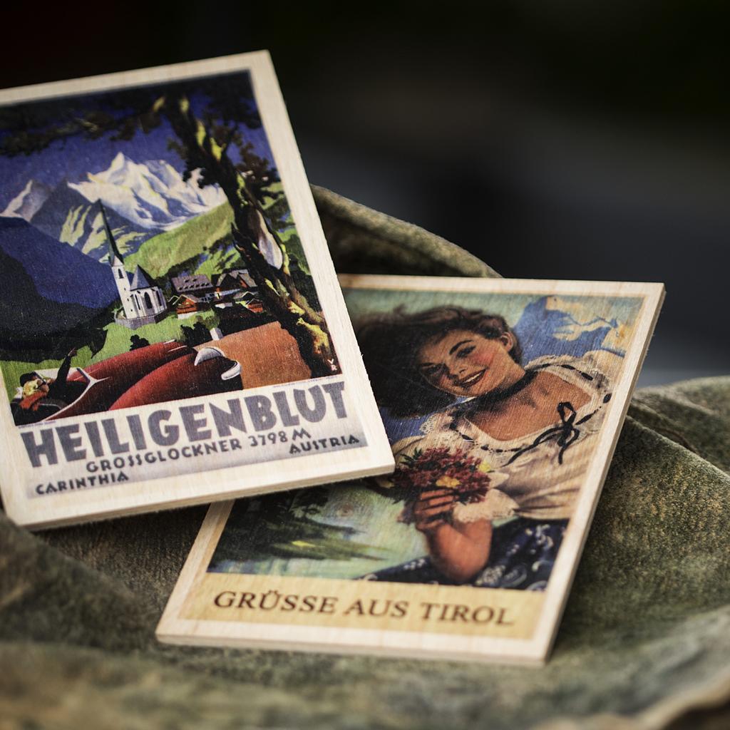 fuerhapter souvenirs holzpostkarte